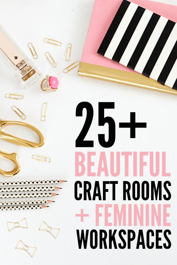 Organizing The Craft Cottage - Craft Room Hop