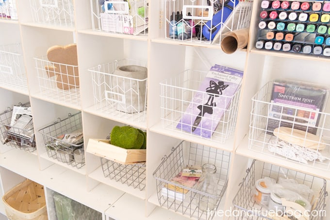 Organizing The Craft Cottage - Projects
