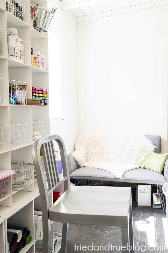 Organizing The Craft Cottage - Workspace