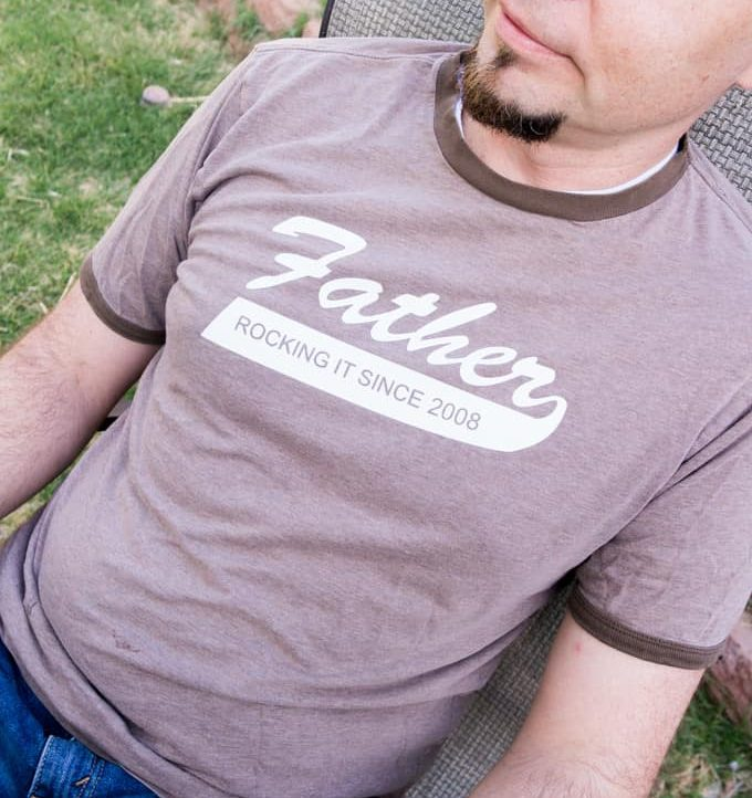 Father's Day T-Shirt Free Cutting File - Dad
