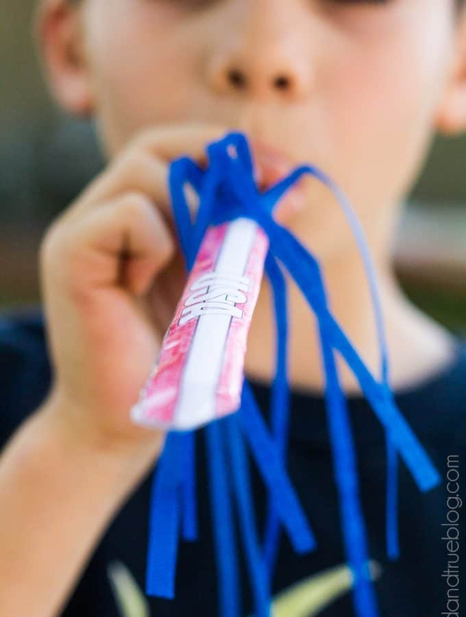 4th of July Paper Firecrackers for Kids