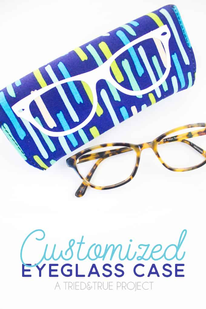 Super easy way to make Customizable Eyeglass Case!