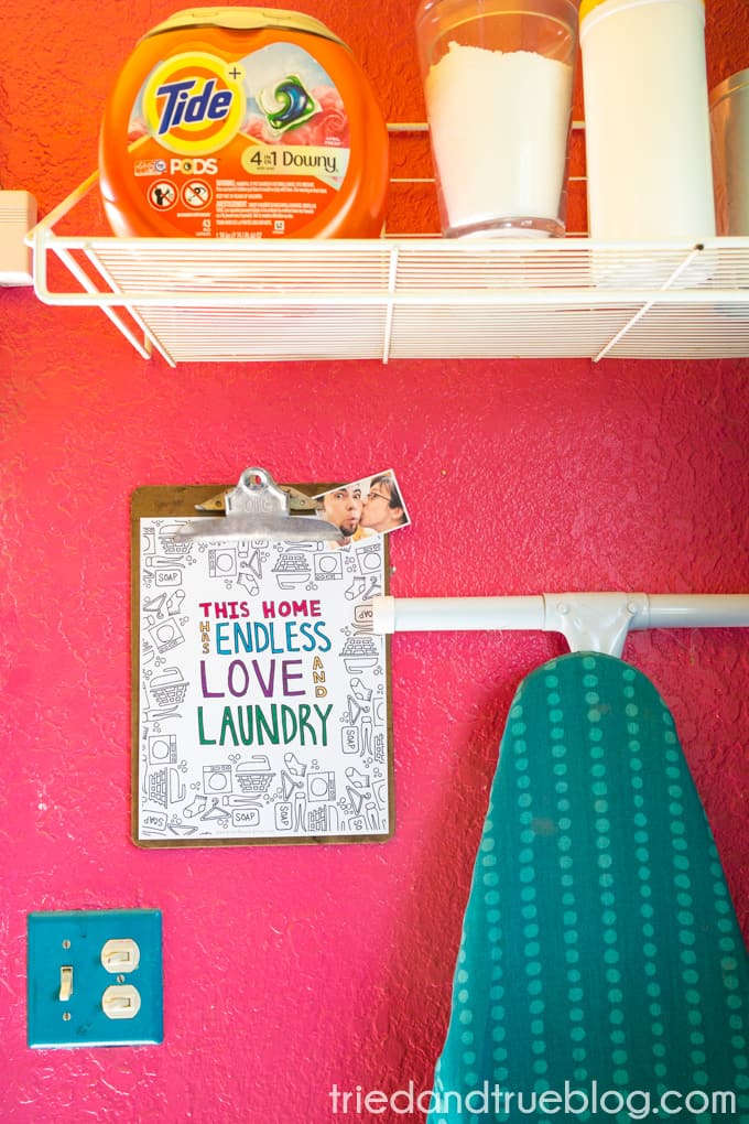Love and Laundry Coloring - Laundry Room 2