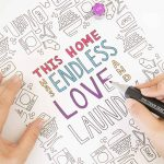 Love and Laundry Coloring Page