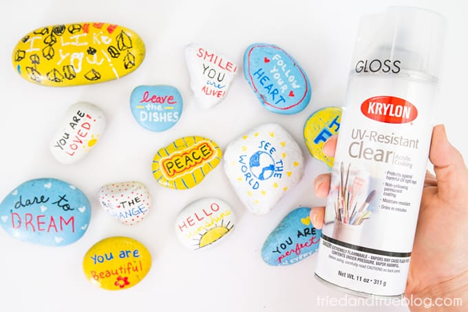 Kindness Rocks Project with Kids! - Protect