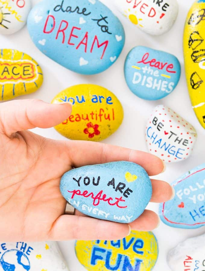 Kindness Rocks Project with Kids!