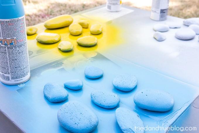 Kindness Rocks Project with Kids! - Spray
