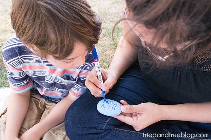 Kindness Rocks Project with Kids! - Help