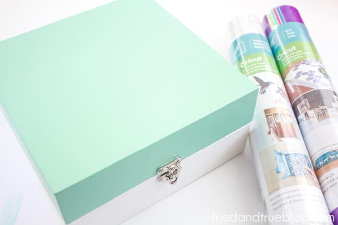 My Sunshine Memory Box - Supplies