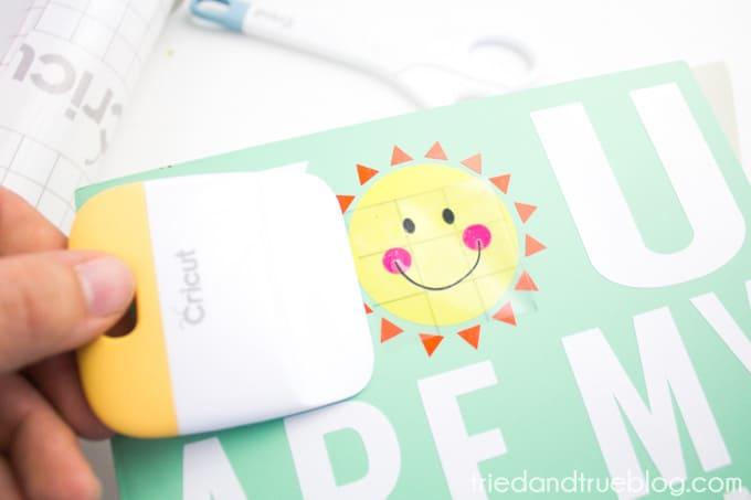 My Sunshine Memory Box - Sun