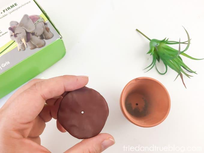 Harry Potter Mandrake Paper Clip Holder - Dirt
