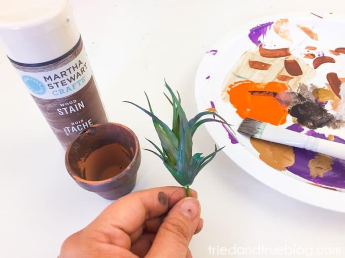 Harry Potter Mandrake Paper Clip Holder - Plant
