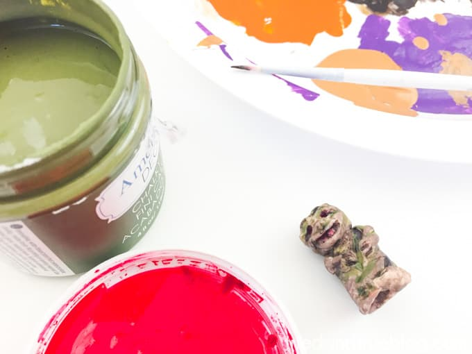 Harry Potter Mandrake Paper Clip Holder - Paint