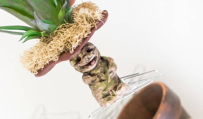Harry Potter Mandrake Paper Clip Holder