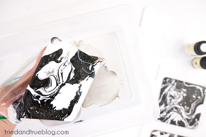 DIY Marble Coasters - Submerge