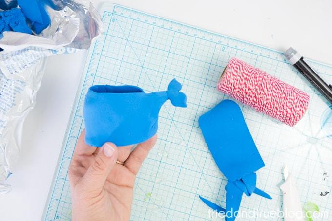 Handmade Whale Clay Pot - Body