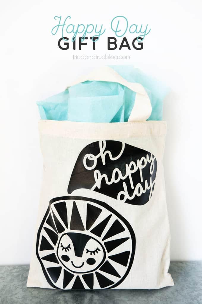 Quick & Easy Cute Birthday Gift Bag