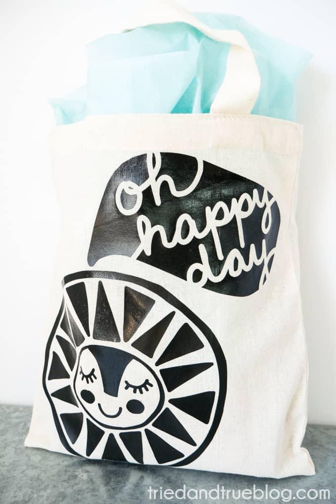 Quick Easy Cute Birthday Gift Bag