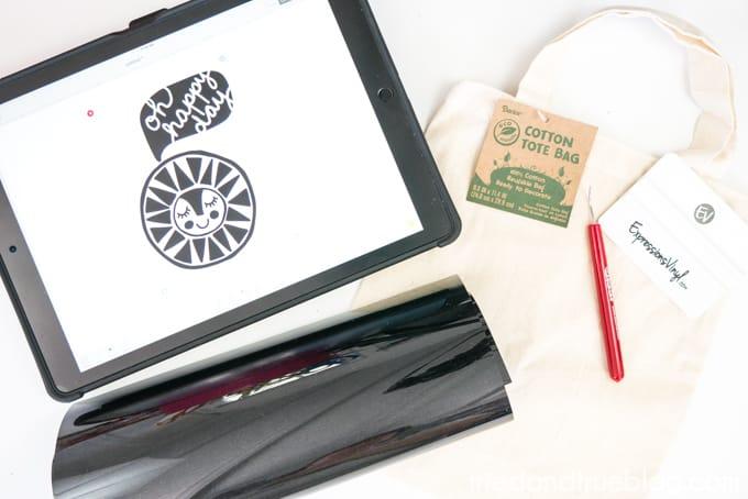 Quick & Easy Cute Birthday Gift Bag - Supplies