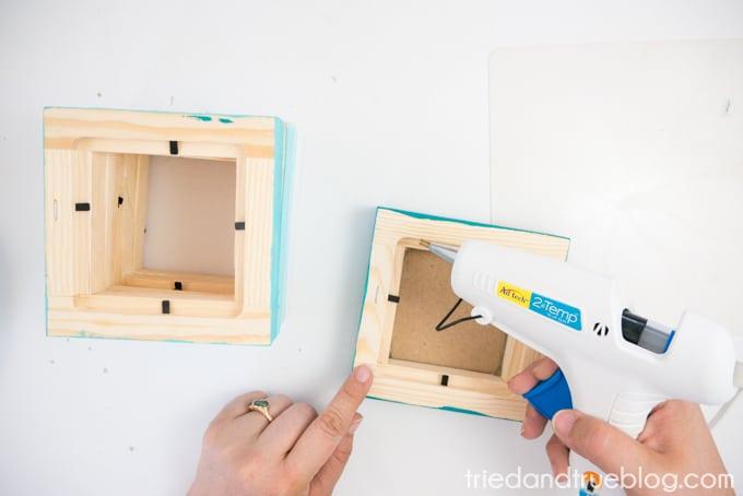 Easy Wood Frame Gradient Vase - Continue