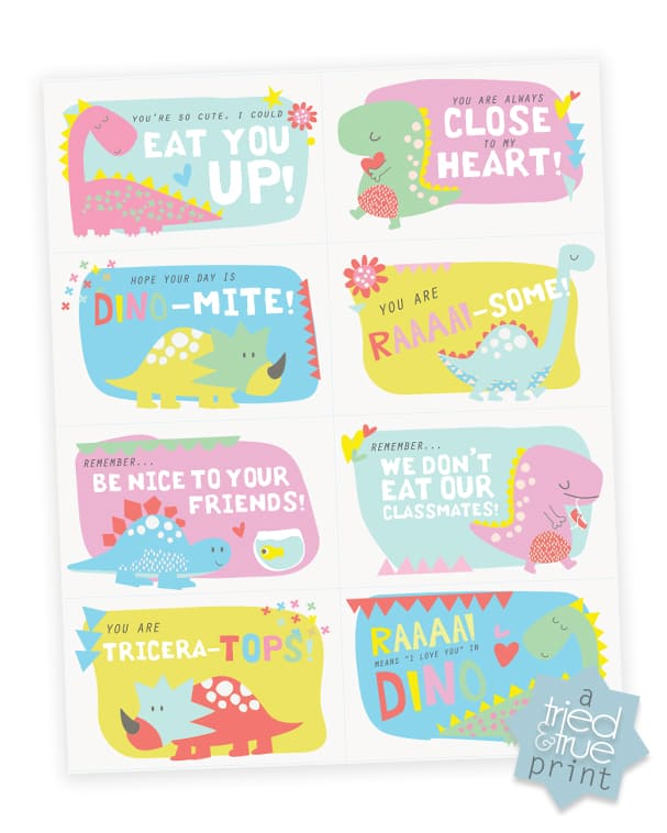 Dinosaur Lunch Box Notes - File