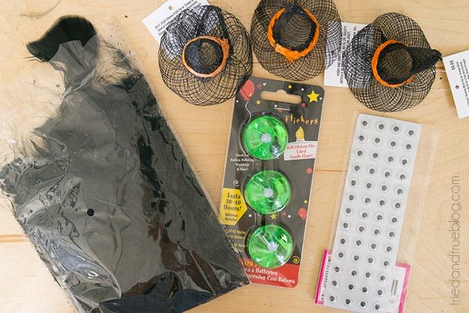 Halloween Witch Tea Light Magnet - Supplies