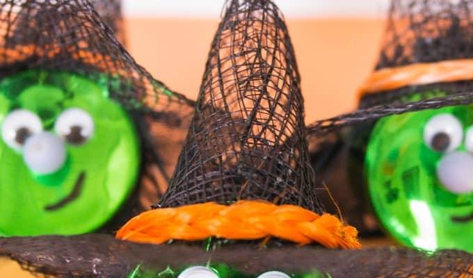 Halloween Witch Tea Light Magnet