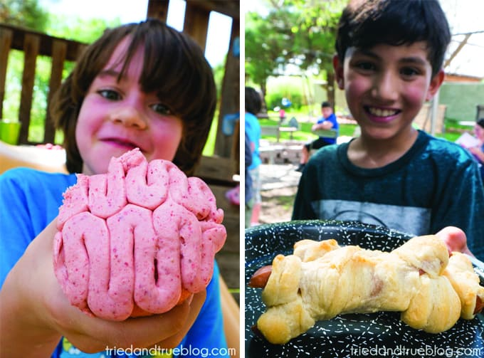 Halloween Zombie Party for Kids! - Brains