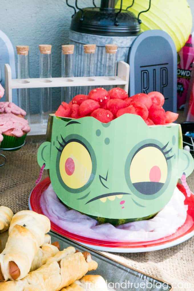 Halloween Zombie Party for Kids! - Watermelon
