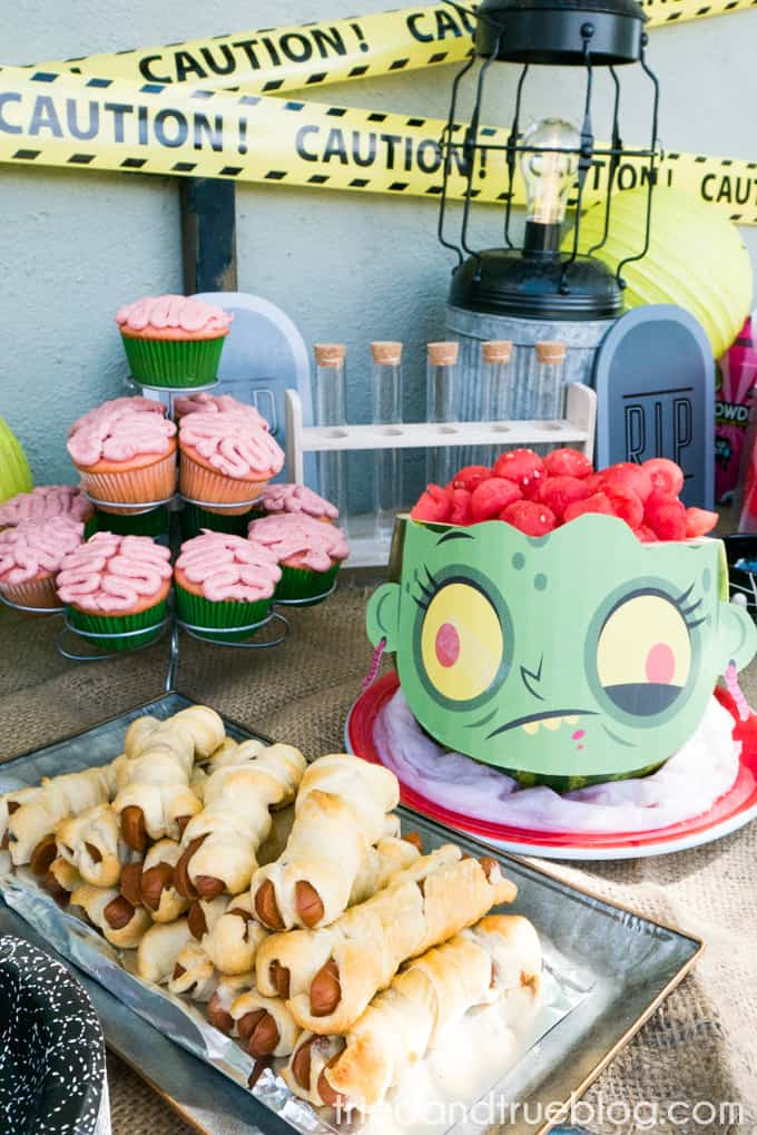 Halloween Zombie Party for Kids! - Food