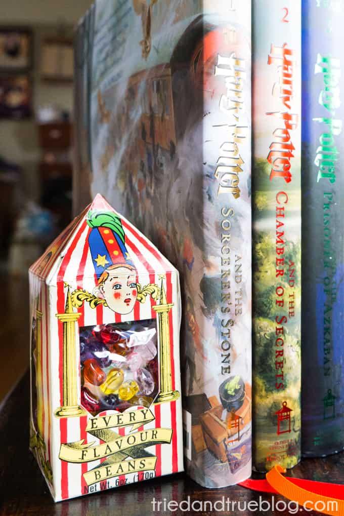 Harry Potter Bertie Bott's Bookends - Final2