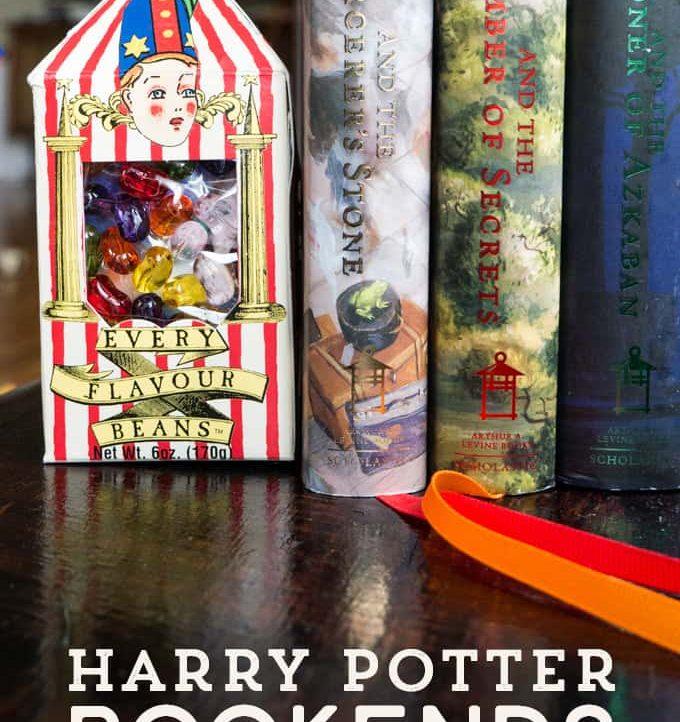 Harry Potter Bertie Bott's Bookends | triedandtrueblog.com