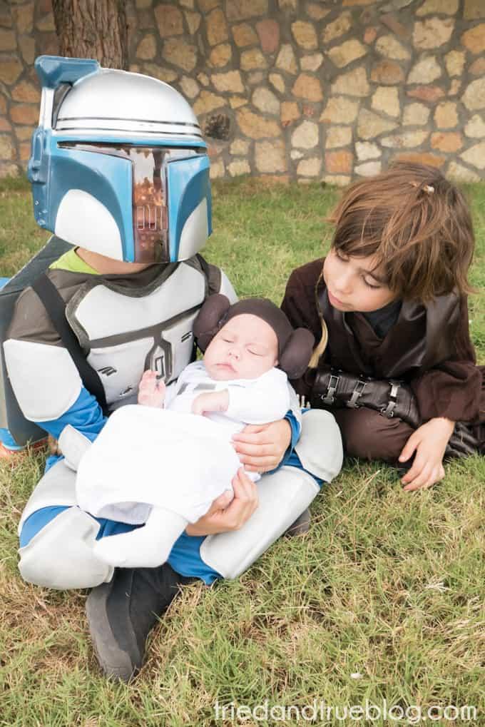 Star Wars Princess Leia Halloween Baby Wig - Sibblings