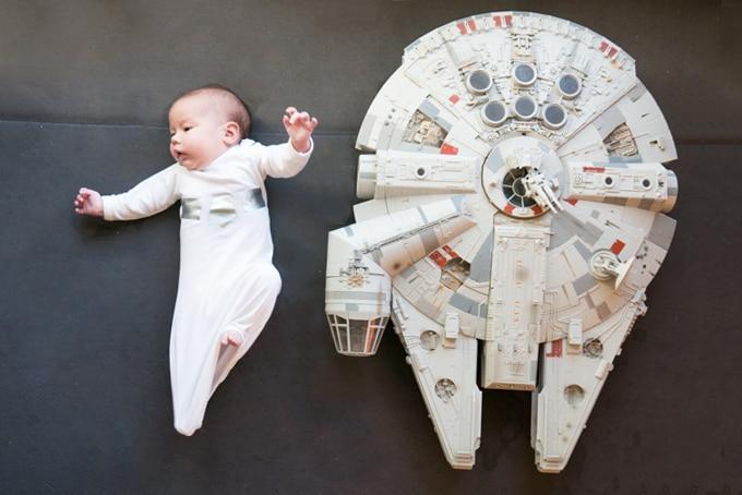 Star Wars Princess Leia Halloween Baby Wig - Dress