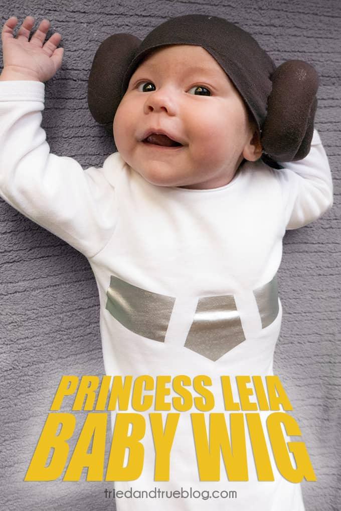 Star Wars Princess Leia Halloween Baby Wig   www.triedandtrueblog.com