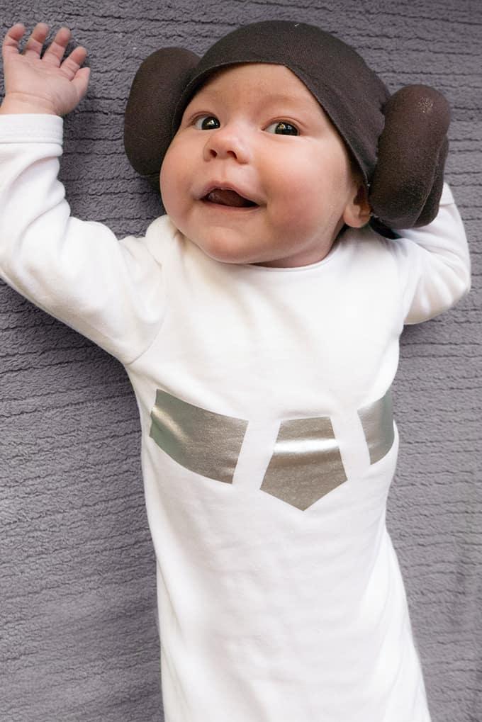 Star Wars Princess Leia Halloween Baby Wig - Costume