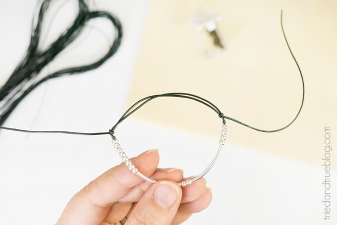 Morse Code Bracelet Valentine's Day Gift - Sliding Knots
