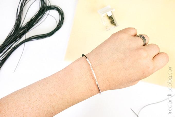 Morse Code Bracelet Valentine's Day Gift - Wear