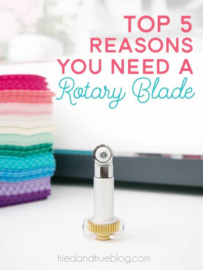 Top 5 Reasons You Need the Cricut Rotary Blade - Fabric cutting is just the beginning!