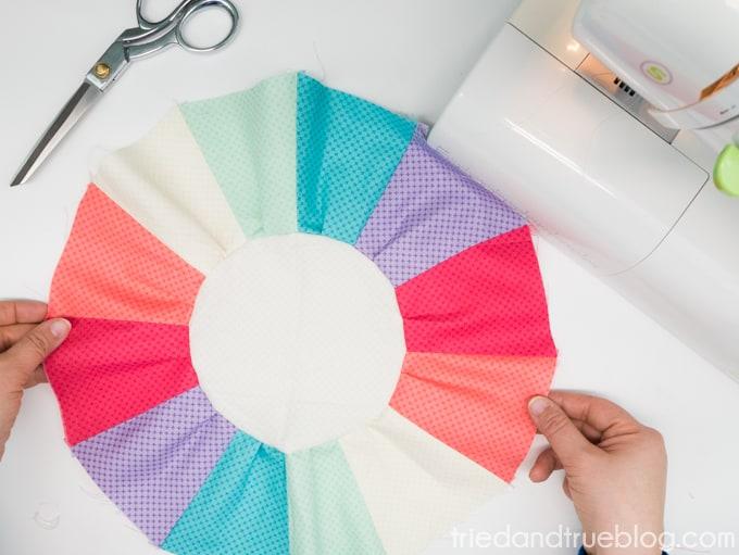 Sunburst Pillow Free SVG Files - Gathered