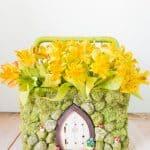 Spring Fairy Garden Basket