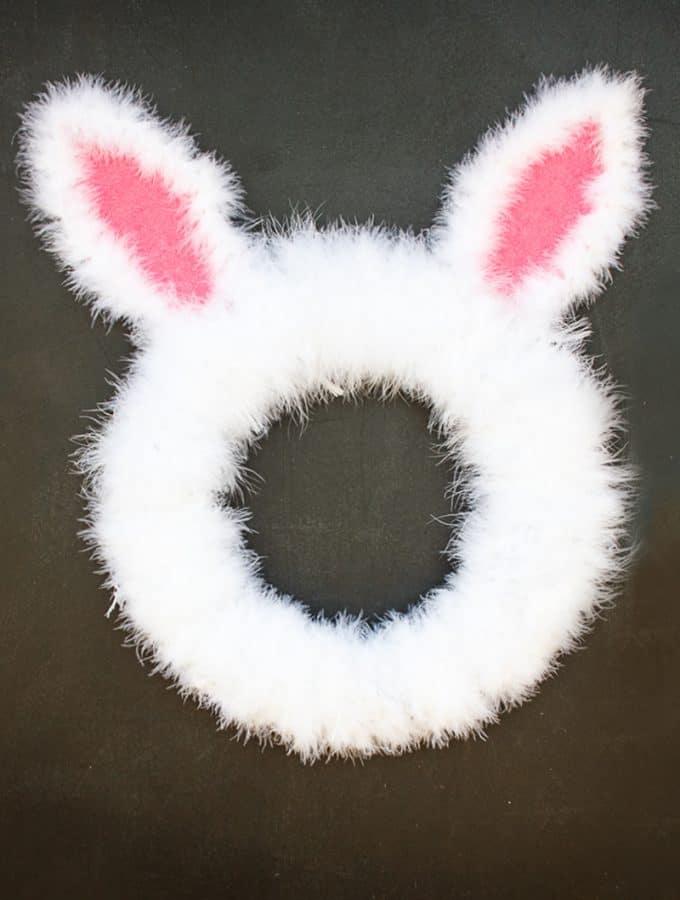 Easter Bunny Spring Wreath