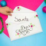 Easy Santa Letter Holder