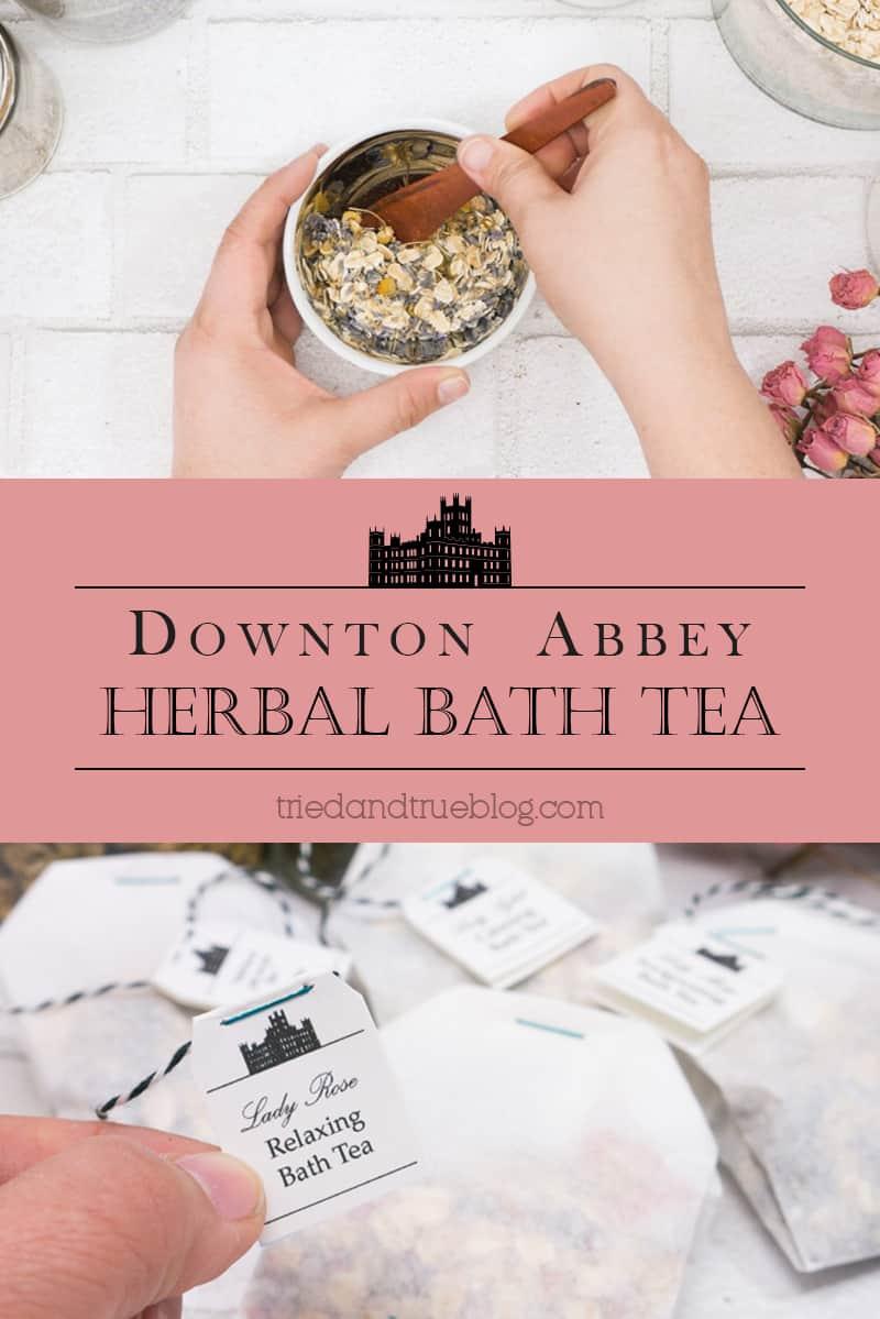 Downton Abbey Herbal Bath Tea