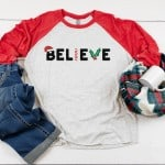 """""""Believe"""" Free SVG & Gift Tags"""