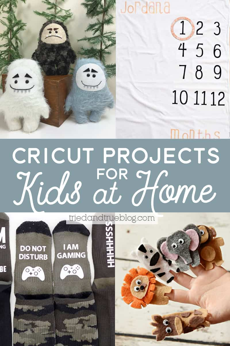 Cricut Projects for Kids At Home