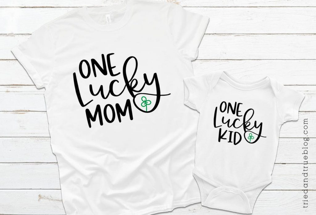 T-Shirt and onesie that reads