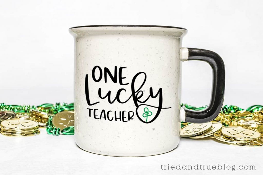 Mug that says