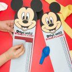 Disneyland Countdown with Cricut