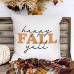 Happy Fall Y'all Free SVG